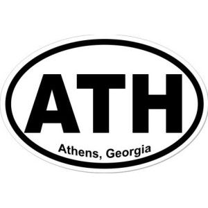 Athens Georgia - Sticker
