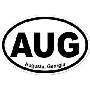 Augusta Georgia - Sticker
