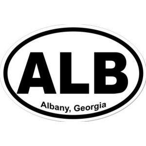 Albany Georgia - Sticker
