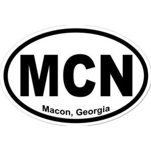 Macon Georgia - Sticker