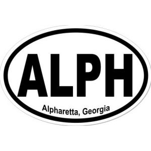 Alpharetta Georgia - Sticker