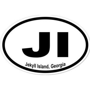 Jekyll Island Georgia - Sticker
