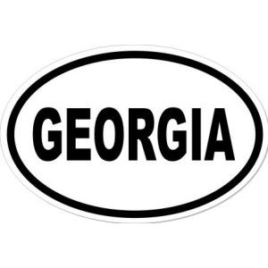 GEORGIA - Sticker