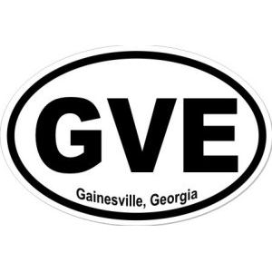 Gainesville Georgia - Sticker