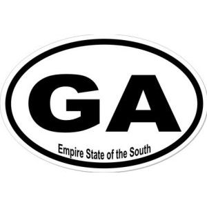 Empire State Georgia - Sticker