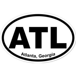 Atlanta Georgia - Sticker