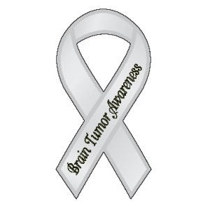 Brain Tumor Awareness - Ribbon Magnet