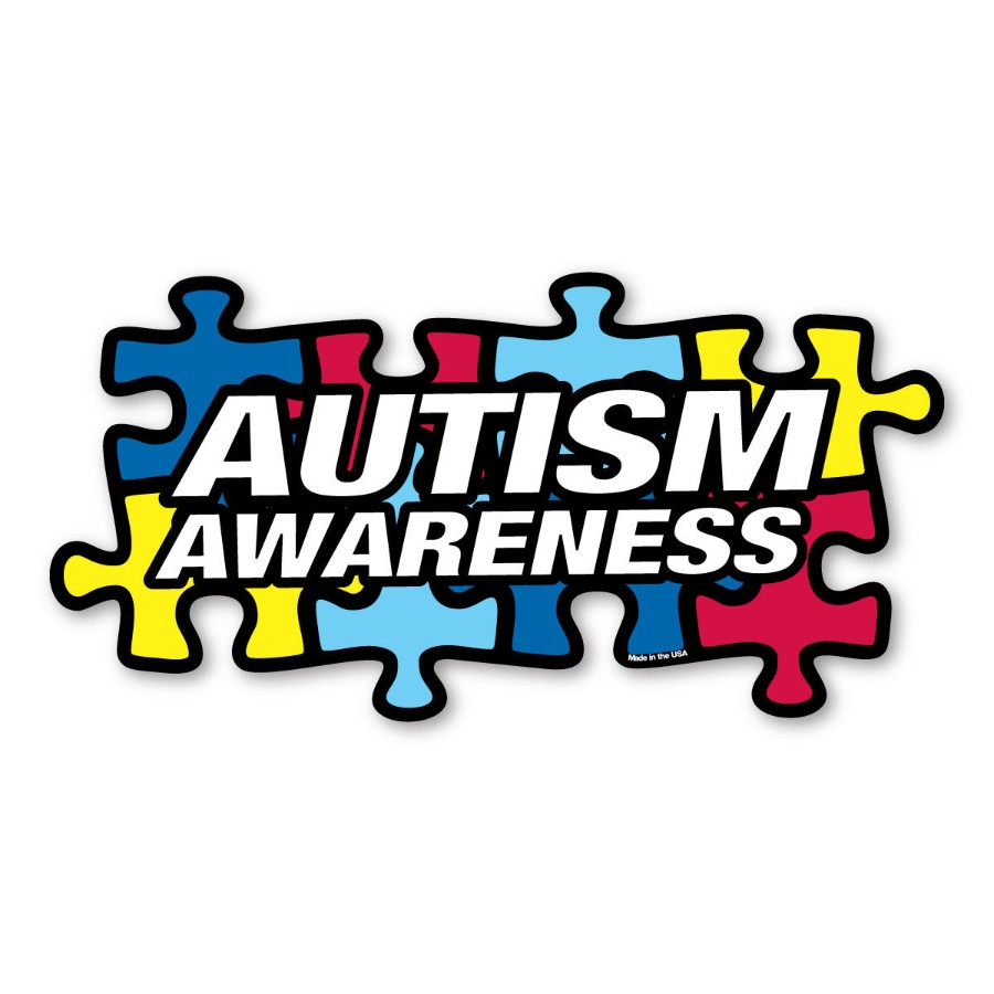 Autism Awareness - Puzzle Magnet