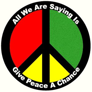 Give Peace A Chance - Magnet
