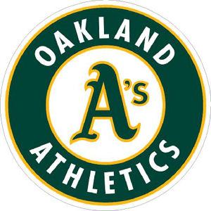 Oakland Athletics A's 1993-Present Logo - Sticker