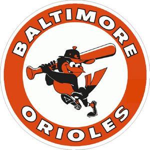 Baltimore Orioles 1966-1988 Logo - Sticker