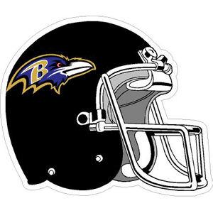 Baltimore Ravens Helmet Sticker At Sticker Shoppe