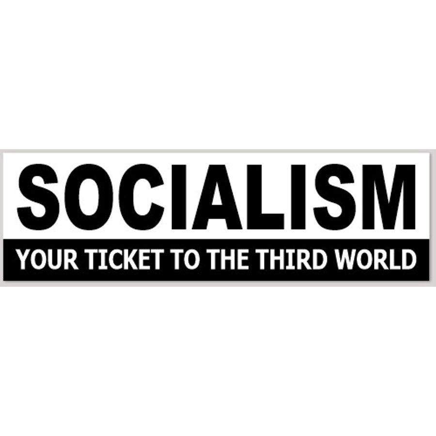 Got Socialism - Bumper Sticker