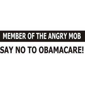 Angry MOB - Bumper Sticker