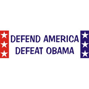 Anti Obama - Sticker