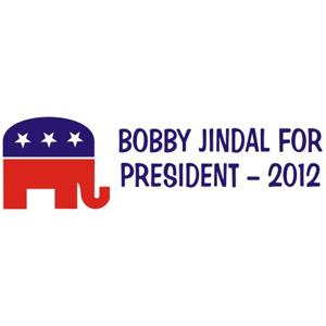 Bobby Jindal 2012 - Bumper Sticker