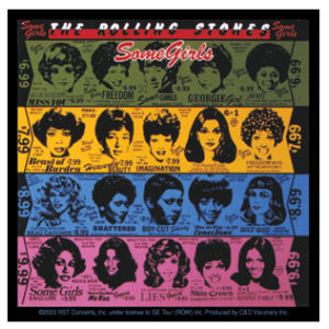 The Rolling Stones Some Girls - Vinyl Sticker at Sticker Shoppe