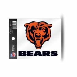 "CHICAGO BEARS /""HEAD/"" LARGE DECAL STICKER 16/""x 16/"""