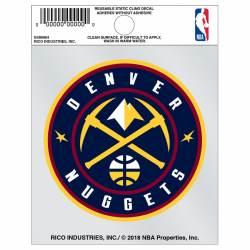 promo code 194df 39ab9 Denver Nuggets Logo - Static Cling