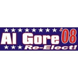 Al Gore For President - Bumper Sticker