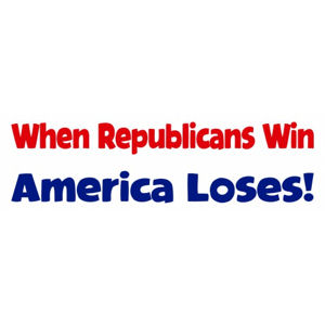 America Loses - Bumper Sticker