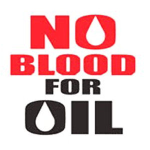 Image result for no more blood for oil