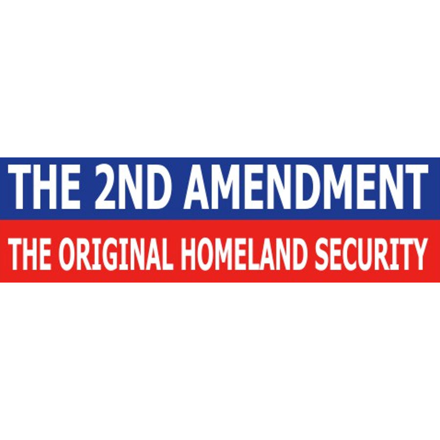 2nd Amendment - Bumper Sticker