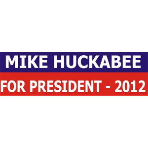 Mike Huckabee For President - Bumper Sticker