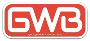 Bush GWB - Sticker