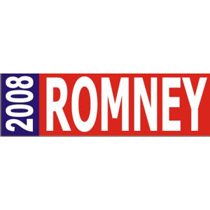 Mitt Romney For President - Bumper Sticker