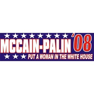 John McCain Sarah Palin - Bumper Sticker